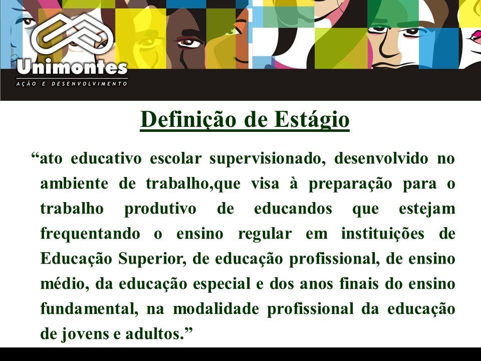 ato educativo escolar supervisionado, desenvolvido no ambiente de trabalho,que visa à preparação para o trabalho produtivo de educandos que estejam fr