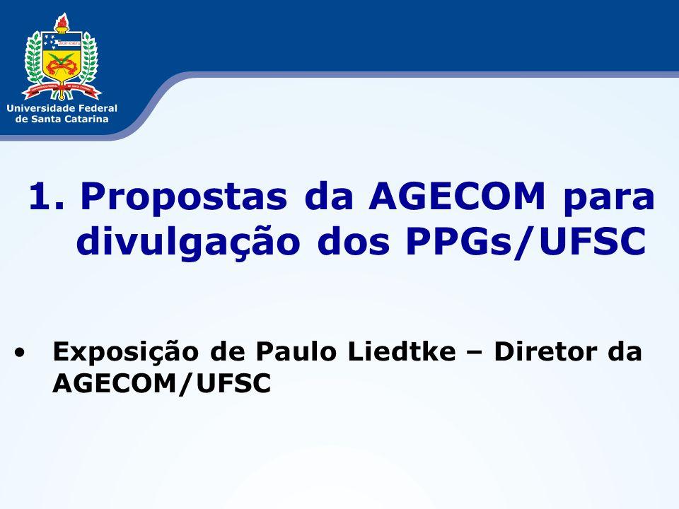 2. Migração de Dados do CAPG para Páginas UFSC dos PPGs Exposição da Mirian Guizoni – CFH/UFSC