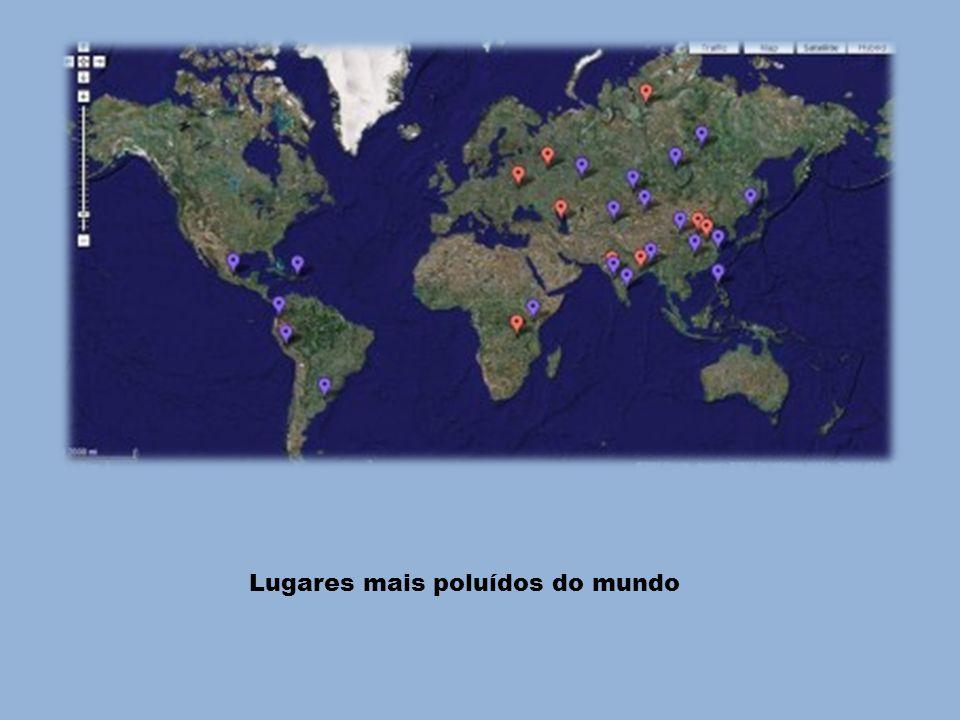Lugares mais poluídos do mundo