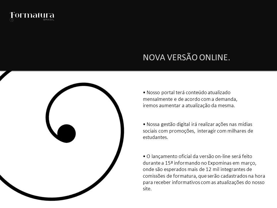 Nosso portal terá conteúdo atualizado mensalmente e de acordo com a demanda, iremos aumentar a atualização da mesma.