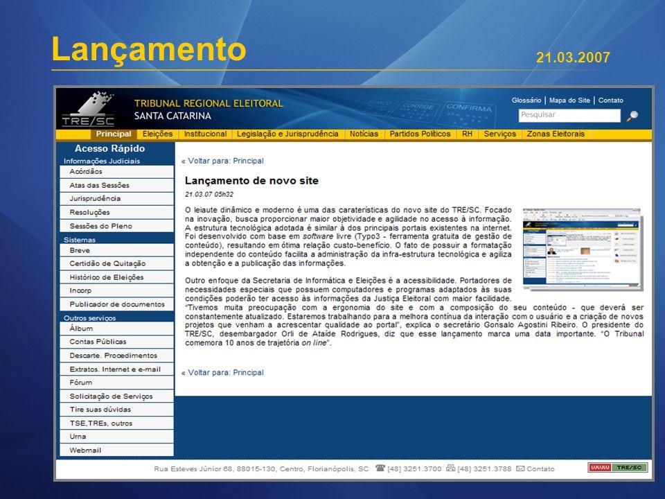 Lançamento 21.03.2007