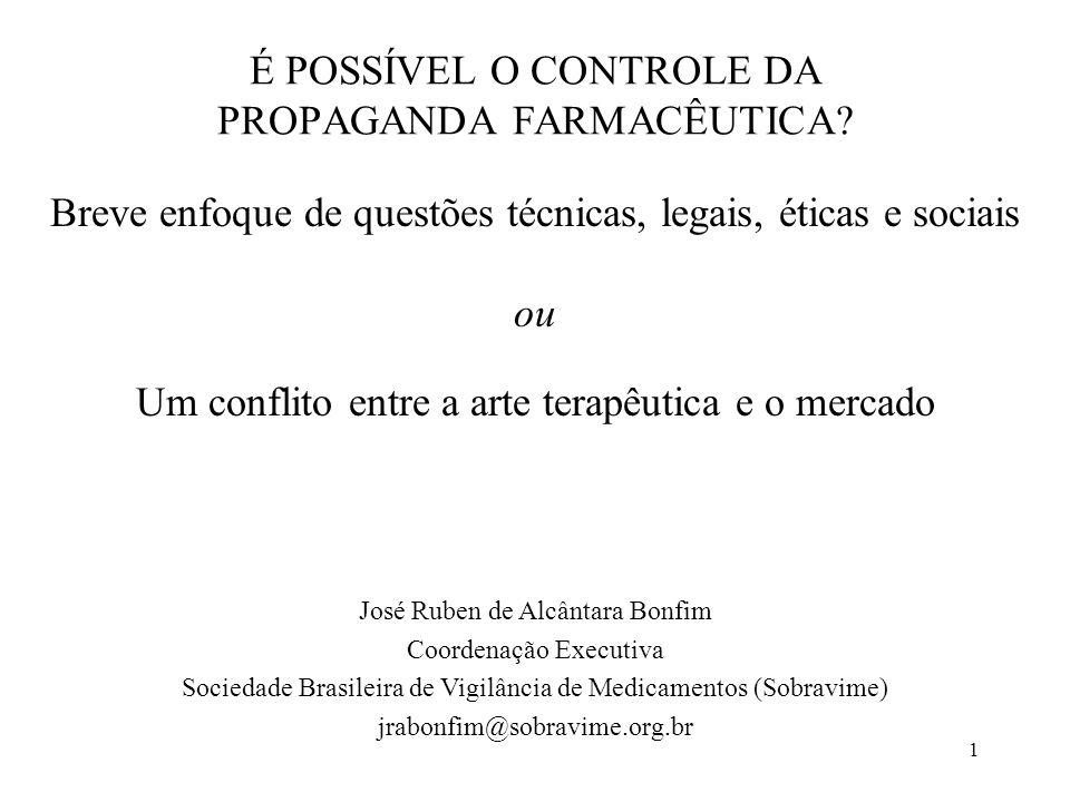 2 Fonte: Graham Dukes, Masters Programme in International Community Health, University of Oslo 2003.