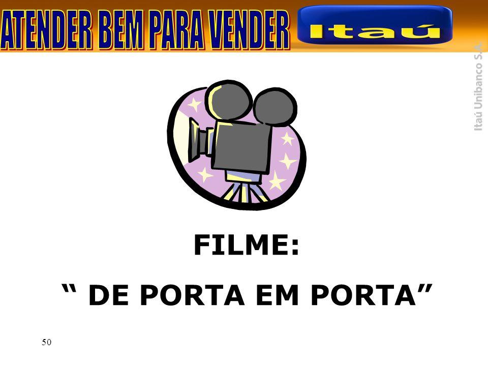 50 FILME: DE PORTA EM PORTA