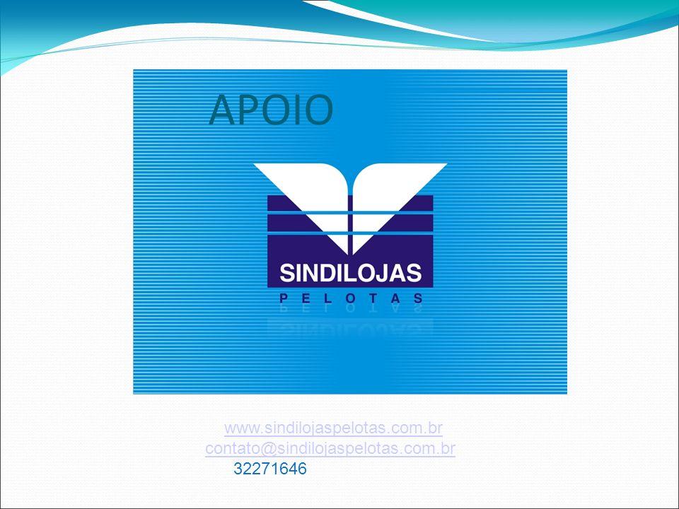 www.sindilojaspelotas.com.br contato@sindilojaspelotas.com.br 32271646 APOIO