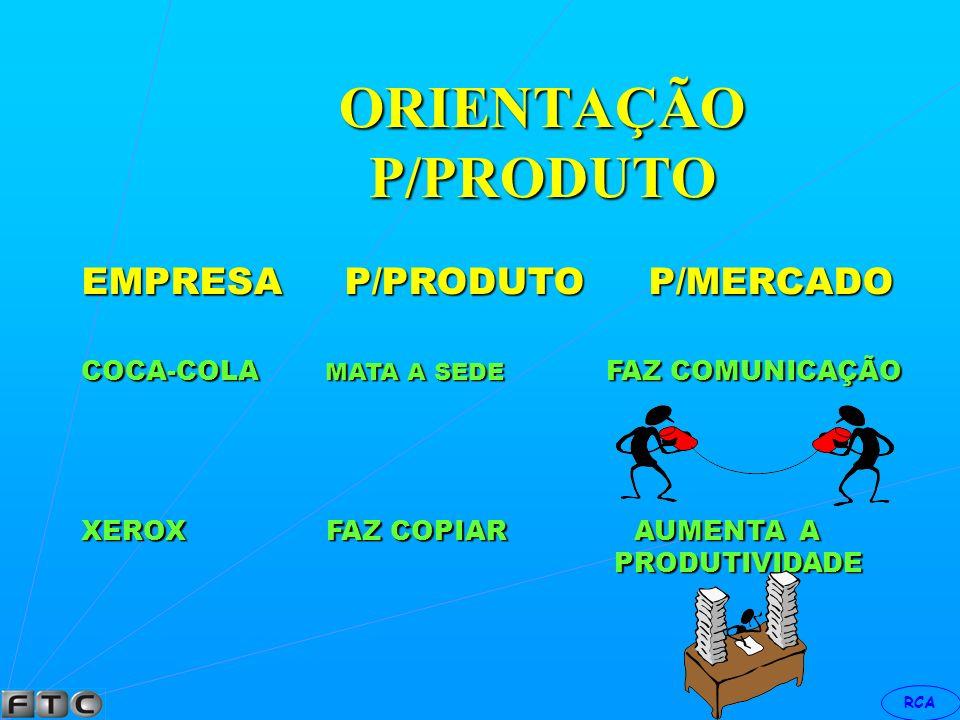 RCA ORIENTAÇÃO P/PRODUTO EMPRESA P/PRODUTO P/MERCADO CONSUL PRODUZ FREEZER PROPORCIONA CONFORTO CONFORTO AVON FAZ COSMÉTICOS VENDE ESPERANÇA