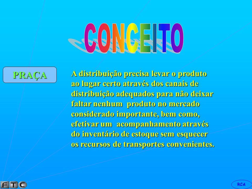 RCA Por conveniência os objetivos de preços podem ser divididos em cinco categorias, a saber: 1 - sobrevivência; 2 - manutenção; 3 - segmentação para