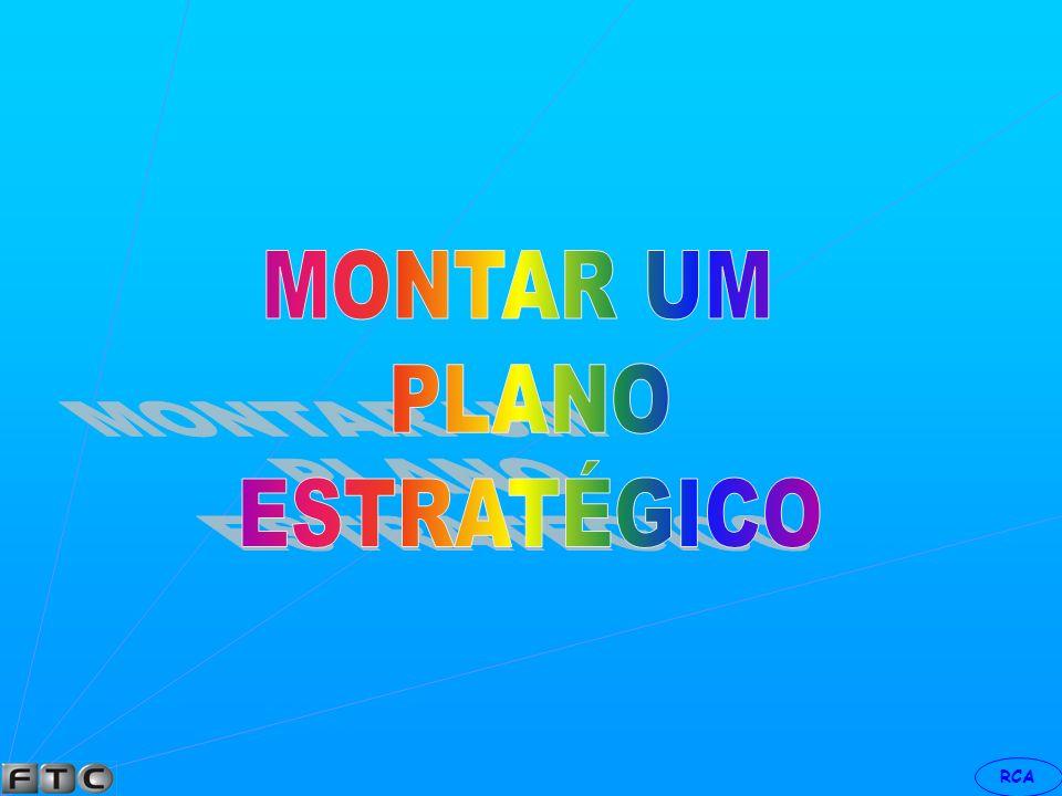 RCA GESTÃO ESTRATÉGICA RESULTADOS DEVEM SER O PRODUTO FINAL DO PROCESSO.