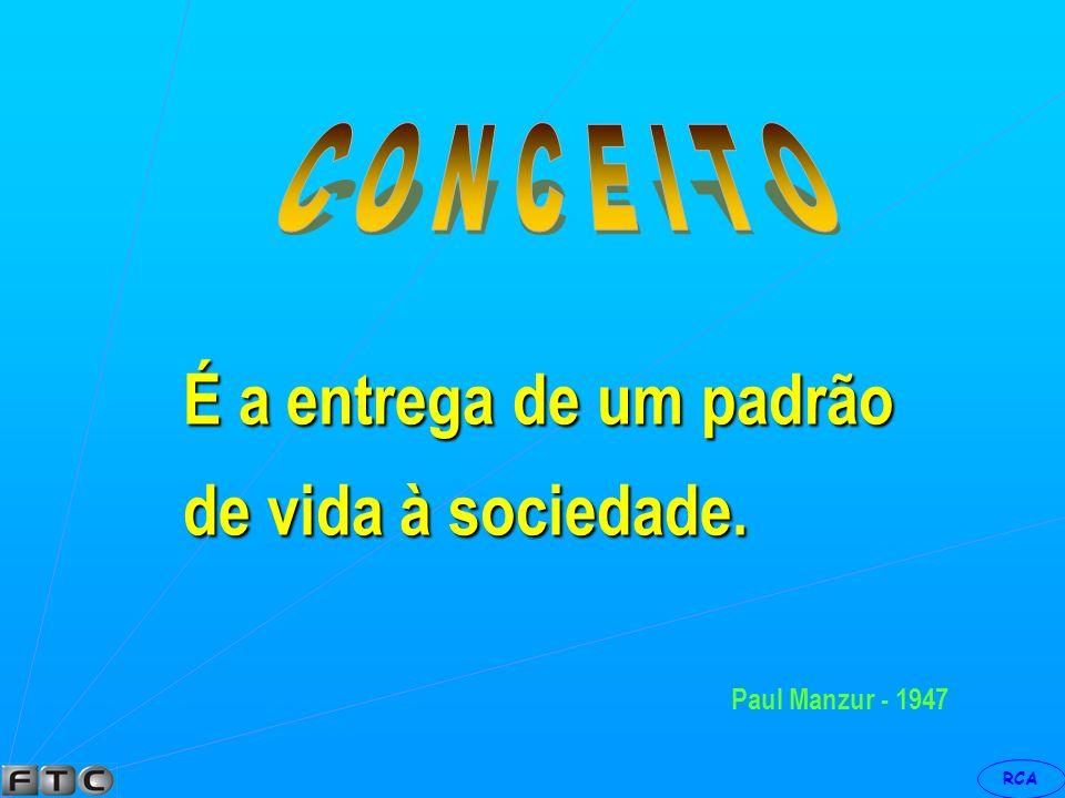RCA Philip Kotler Processo social e gerencial através do qual indivíduos e grupos obtêm aquilo que necessitam e desejam por meio da criação e troca de