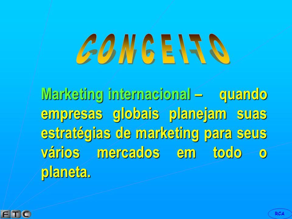 RCA Marketing de nicho – é para um grupo definido mais estritamente, um mercado pequeno cujas necessidades estão sendo totalmente satisfeitas.