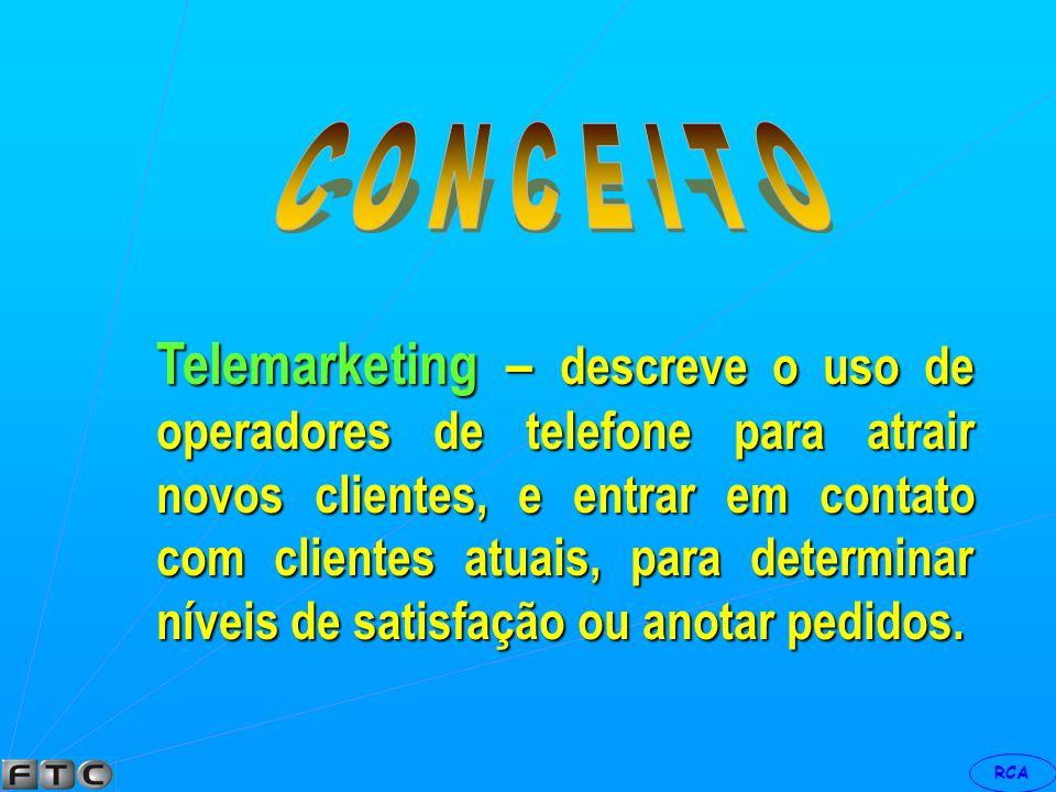 RCA Marketing de imitação – quando é feito para um produto que se propõe de uma cópia de um produto existente consolidado.