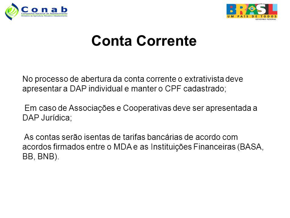 Conta Corrente.