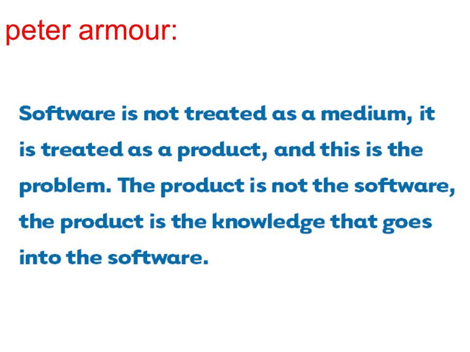 peter armour:
