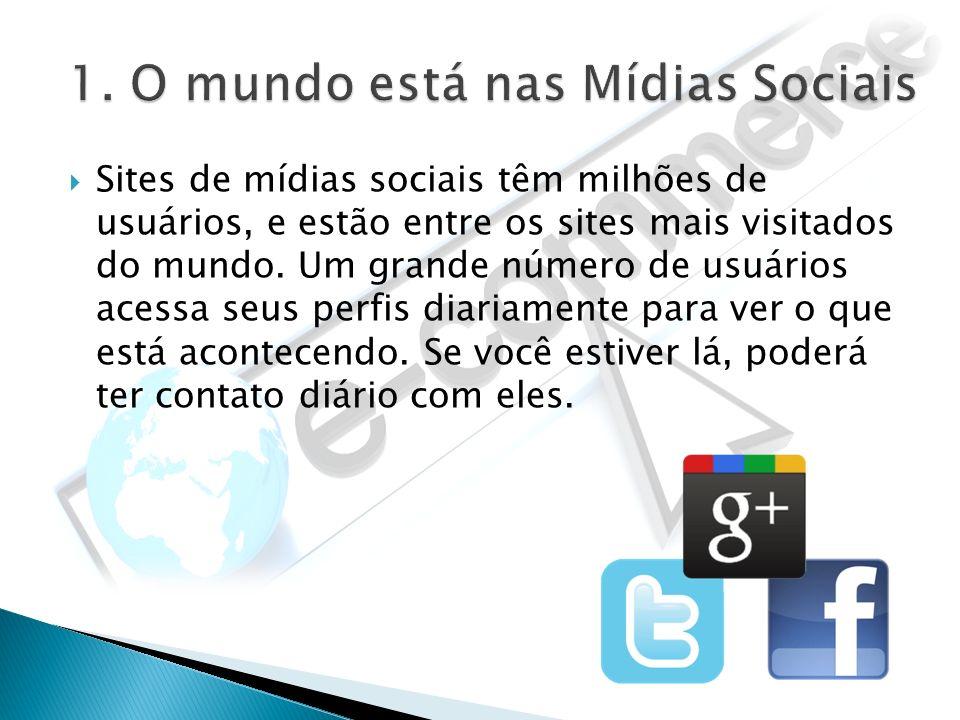 Sites de mídias sociais têm milhões de usuários, e estão entre os sites mais visitados do mundo. Um grande número de usuários acessa seus perfis diari
