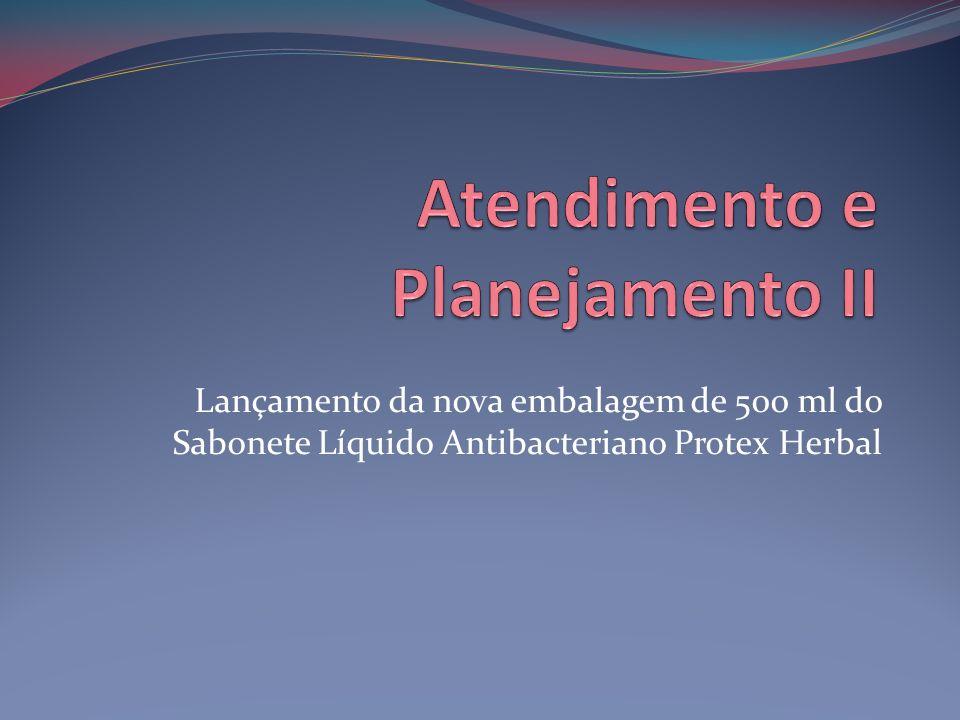 Lançamento da nova embalagem de 500 ml do Sabonete Líquido Antibacteriano Protex Herbal
