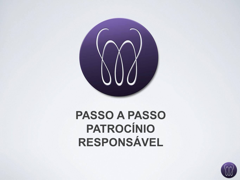 PASSO A PASSO PATROCÍNIO RESPONSÁVEL