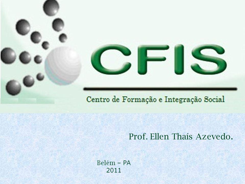 MARKETING PESSOAL Prof. Ellen Thaís Azevedo. Belém – PA 2011