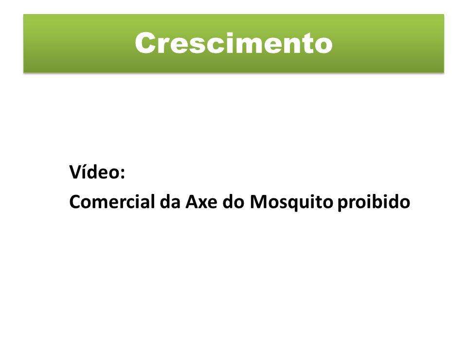 Crescimento Vídeo: Comercial da Axe do Mosquito proibido