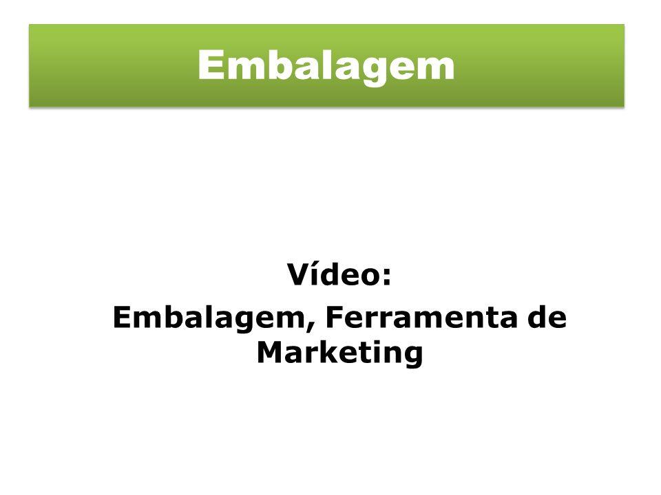 Vídeo: Embalagem, Ferramenta de Marketing Embalagem