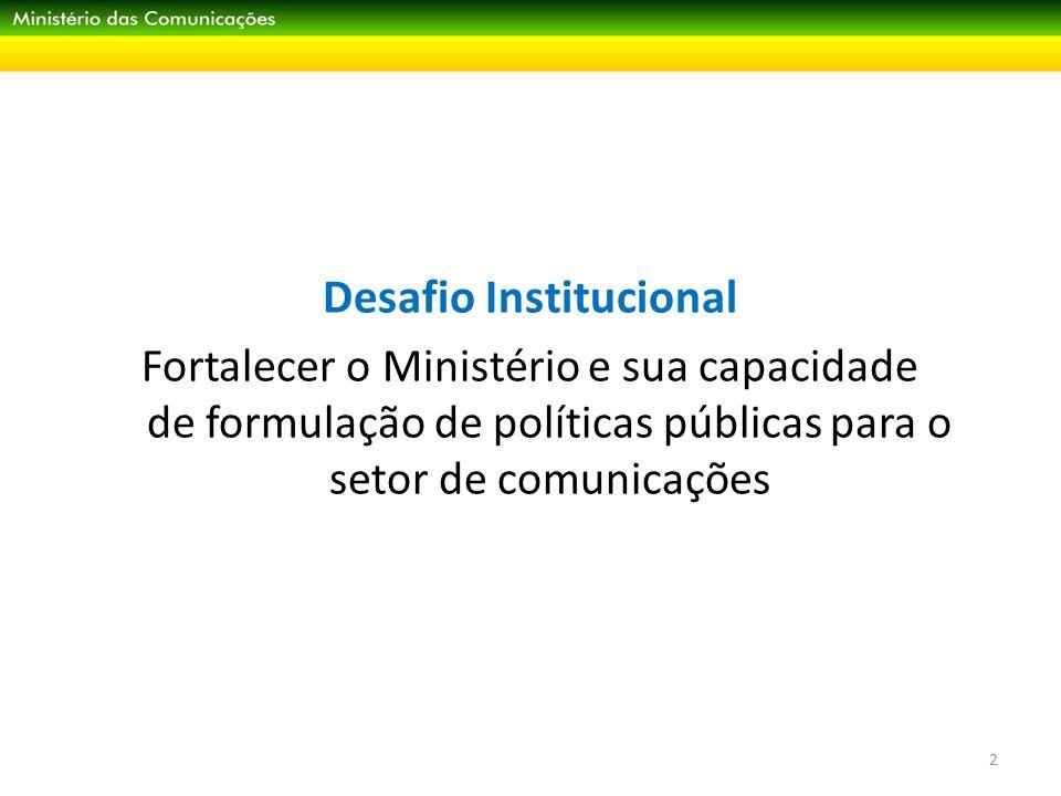 Ações e Projetos do Ministério das Comunicações 13