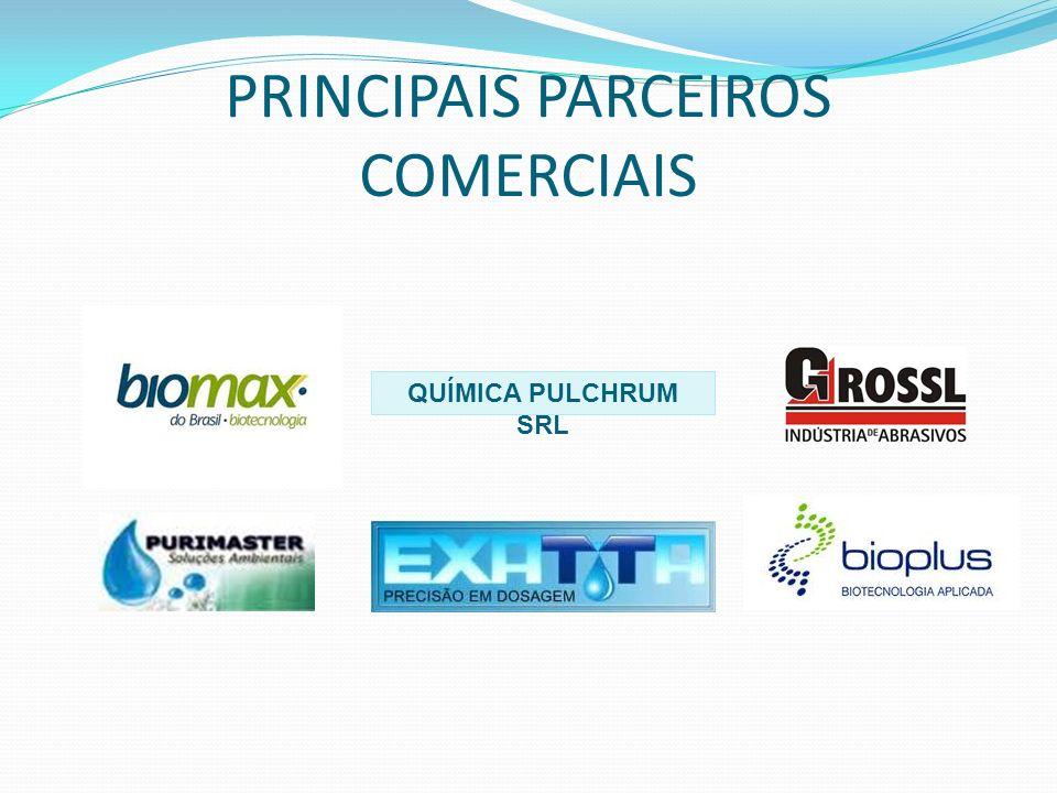 PRINCIPAIS PARCEIROS COMERCIAIS QUÍMICA PULCHRUM SRL