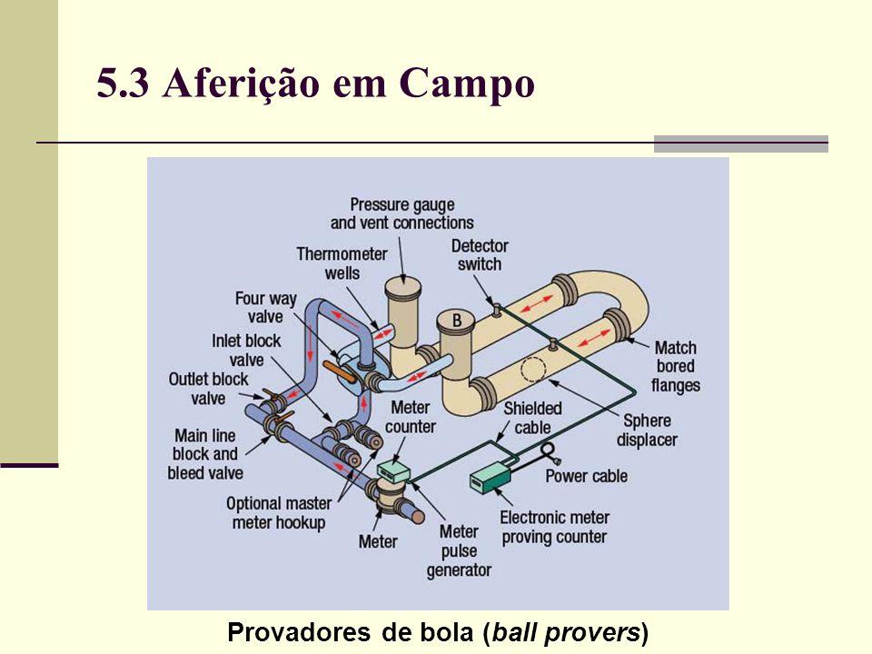 5.3 Aferição em Campo Provadores de bola (ball provers)