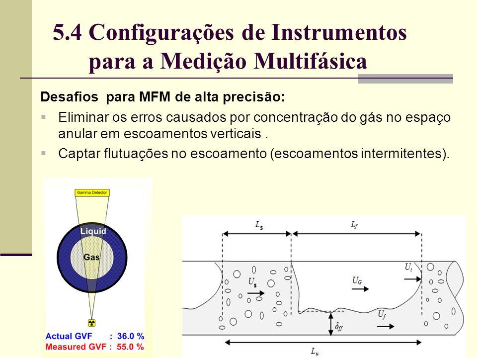 Desafios para MFM de alta precisão: Eliminar os erros causados por concentração do gás no espaço anular em escoamentos verticais.