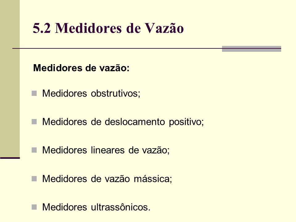 5.2 Medidores de Vazão Vazões medidas pelo Altosonic V (Khrone):