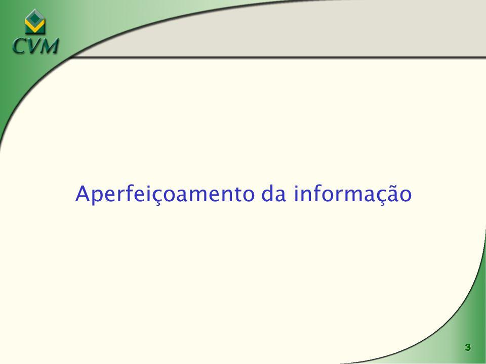 3 Aperfeiçoamento da informação