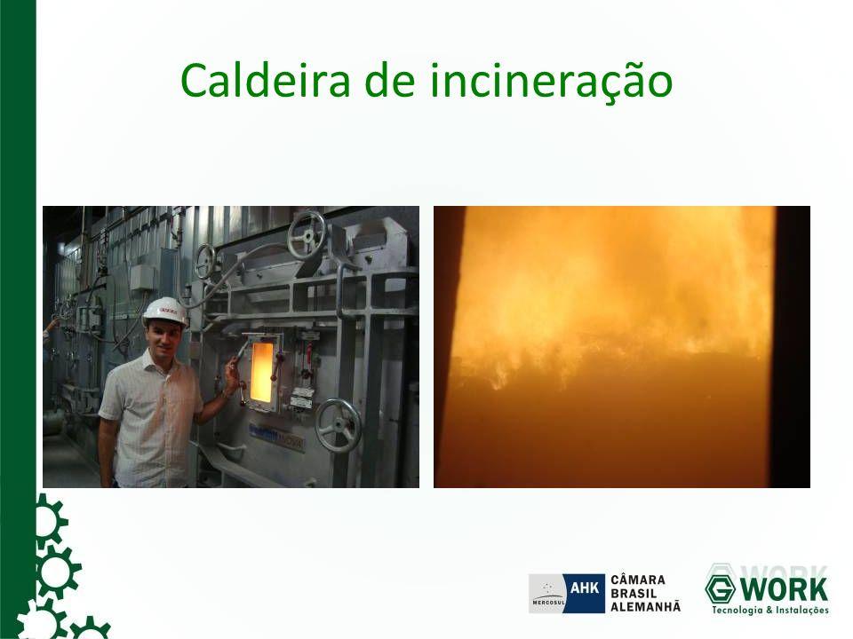 Caldeira de incineração
