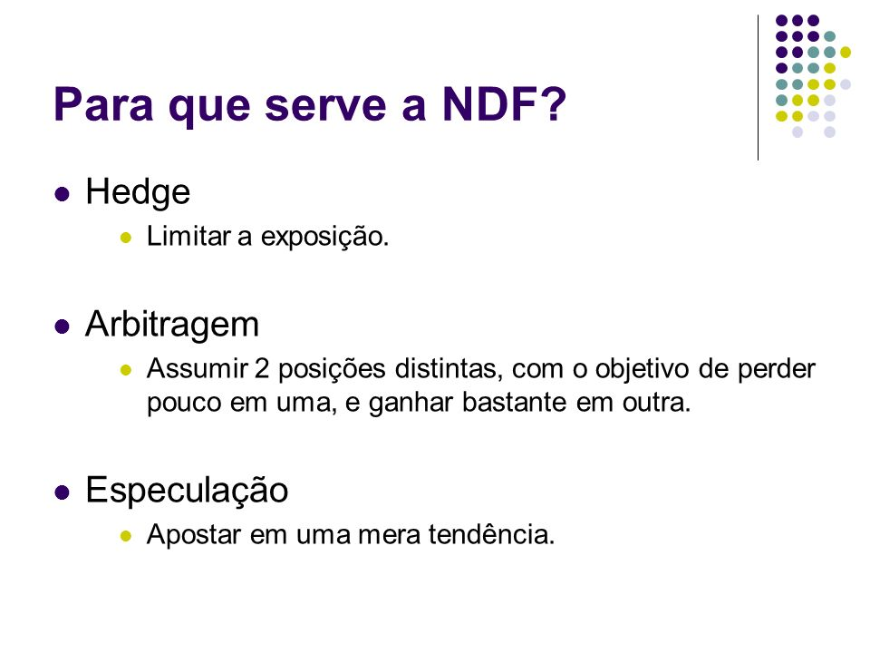 Contrato NDF do Itaú BBA