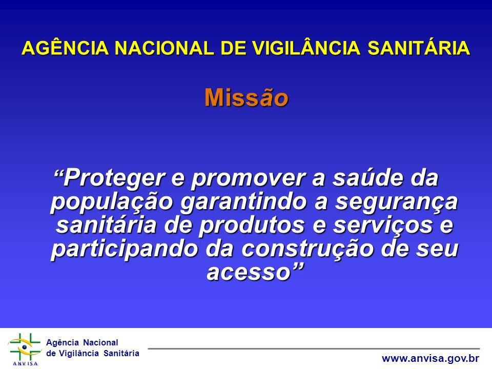 Agência Nacional de Vigilância Sanitária www.anvisa.gov.br 1º Seminário de Preservativos de Madeiras O PAPEL DA ANVISA NA AVALIAÇÃO E CONTROLE DOS AGROTÓXICOS 18 de Outubro de 2005 Brasília AGÊNCIA NACIONAL DE VIGILÂNCIA SANITÁRIA GERÊNCIA GERAL DE TOXICOLOGIA