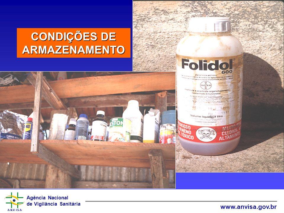 Agência Nacional de Vigilância Sanitária www.anvisa.gov.br CONDIÇÕES DE APLICAÇÃO