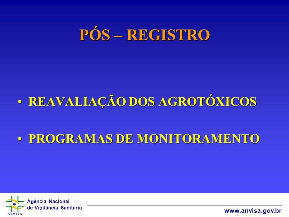 Agência Nacional de Vigilância Sanitária www.anvisa.gov.br FISCALIZAÇÃO E COMÉRCIO ILEGAL