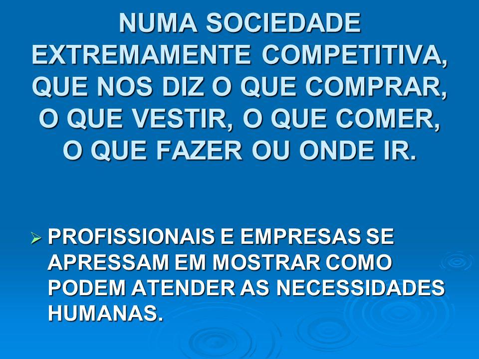 QUEM SÃO SEUS COMPETIDORES E EM QUE SÃO BEM-SUCEDIDOS.