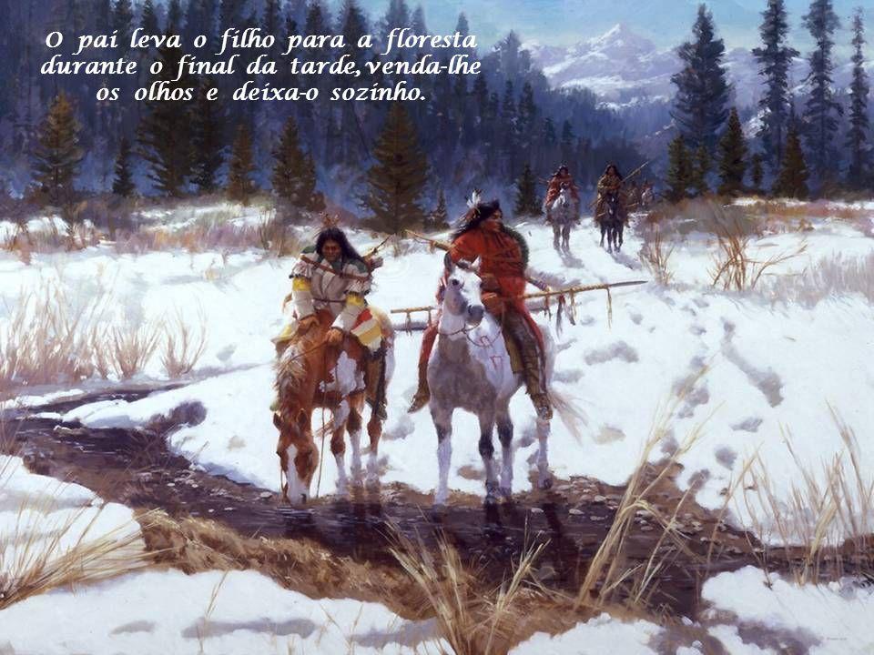 Você conhece a lenda do rito de passagem da juventude dos índios Cherokees?