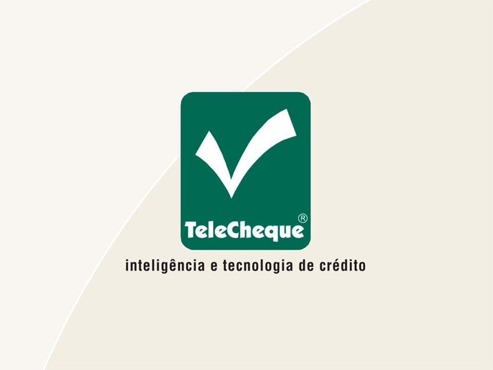 Histórico: 1982 – Início das Atividades 1983 – TeleCheque Informativo 1986 – SOS TeleCheque 1990 – TeleCheque Garantido 1993 – Valorização do pré-datado 1996 – TeleCheque Administração de Crédito 1999 – Nova Plataforma tecnológica 2001 – Solução TeleCheque para e-comerce 2002 – TeleCheque Database Marketing 2003 – Relatórios Gerenciais On-line 2004 – Consulta Via Web 2005 – TeleCheque Crédito Varejo 2007 – TeleCheque Gestão de Crédito