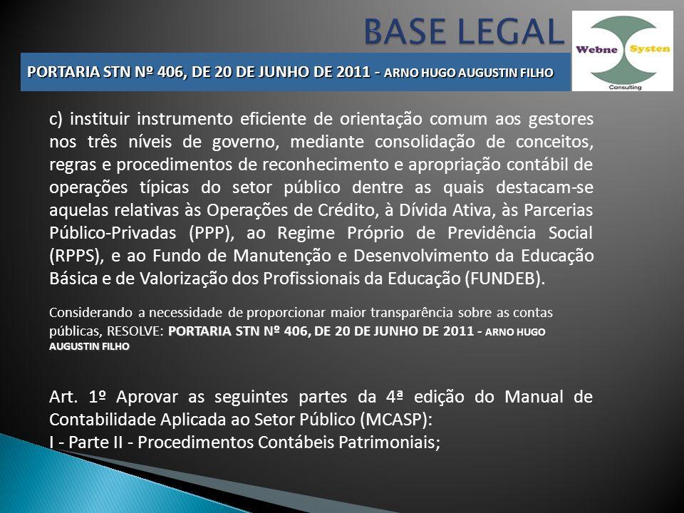 c) instituir instrumento eficiente de orientação comum aos gestores nos três níveis de governo, mediante consolidação de conceitos, regras e procedime