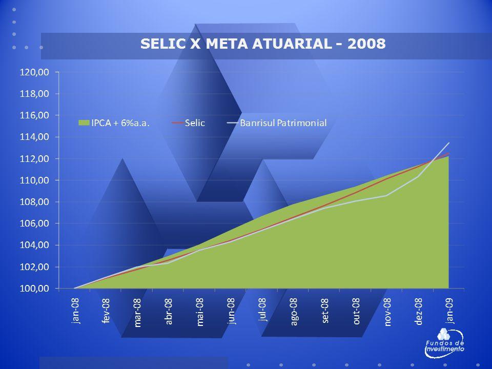 SELIC X META ATUARIAL - 2008