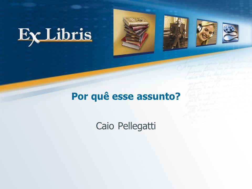 Por quê esse assunto Caio Pellegatti