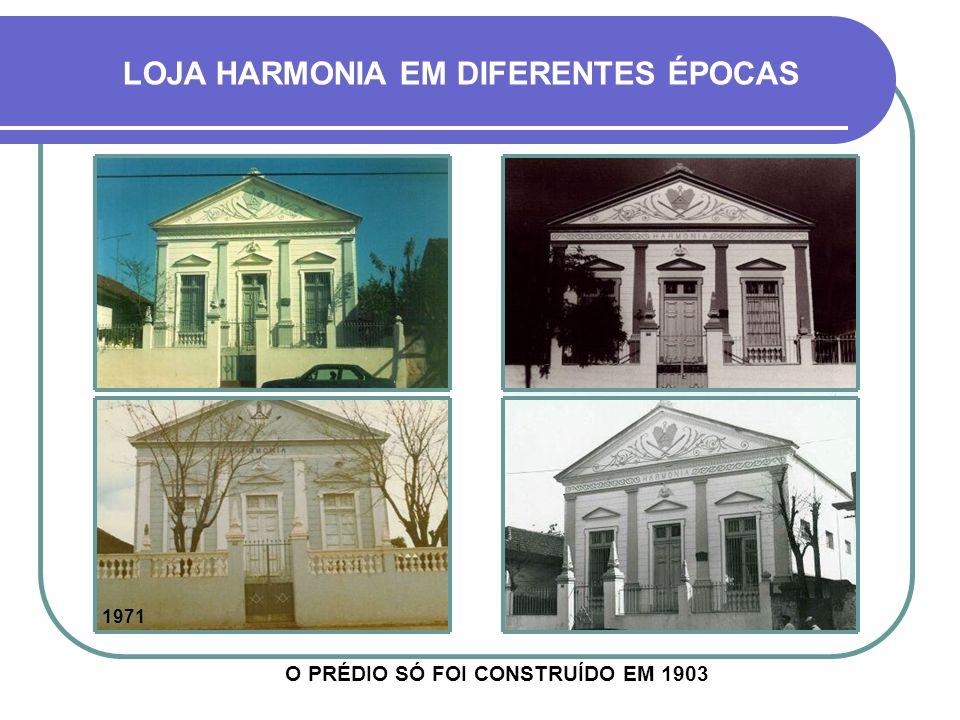 MAÇONARIA Embora a maçonaria tenha se instalado no estado em 1831 (Porto Alegre), desde o início influenciando os rumos da sua história, em Cruz Alta