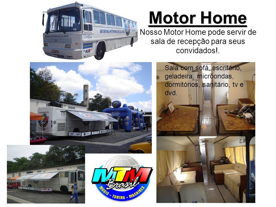 Motor Home Motor Home Nosso Motor Home pode servir de sala de recepção para seus convidados!.