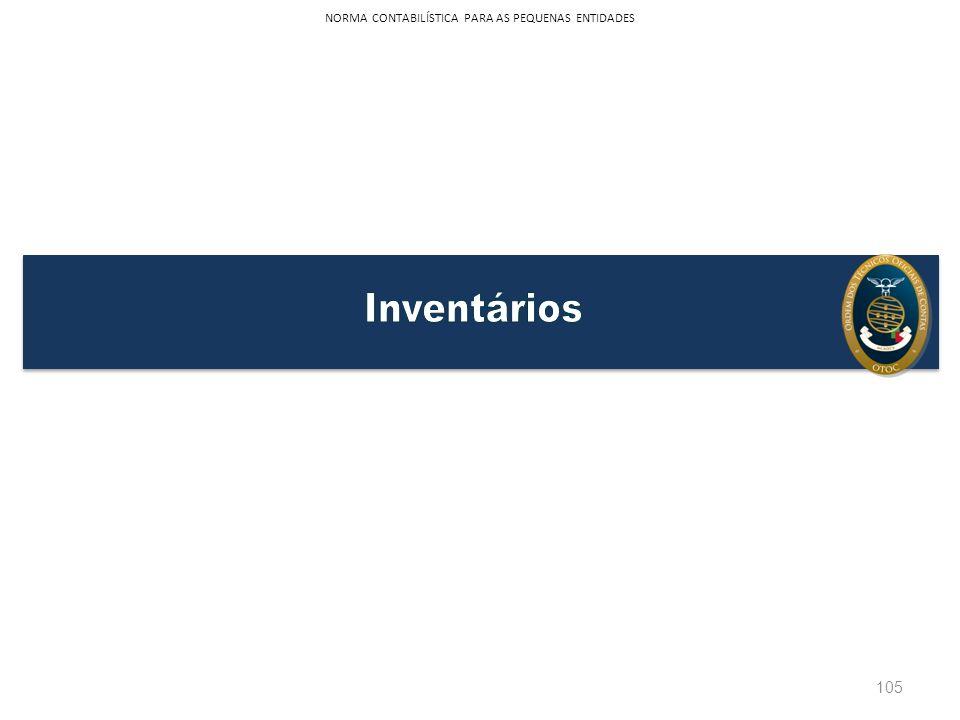 105 NORMA CONTABILÍSTICA PARA AS PEQUENAS ENTIDADES