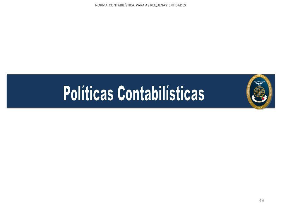 48 NORMA CONTABILÍSTICA PARA AS PEQUENAS ENTIDADES