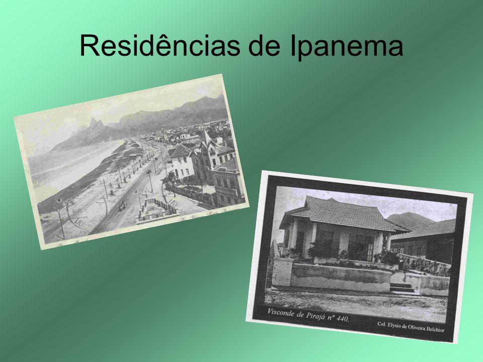 Residências de Ipanema