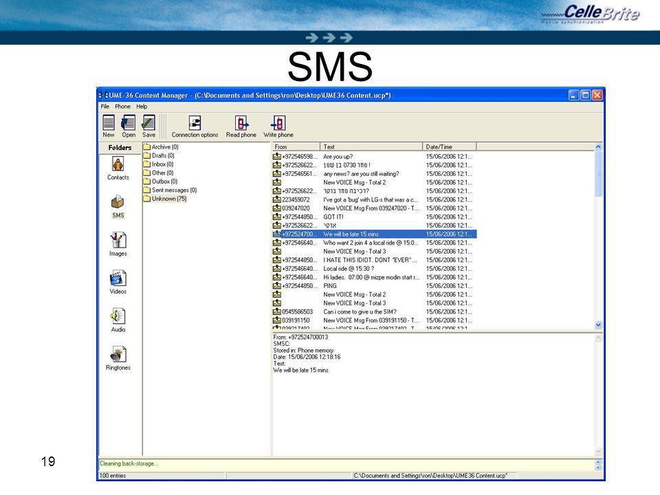 19 SMS