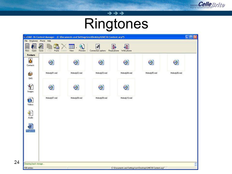 24 Ringtones