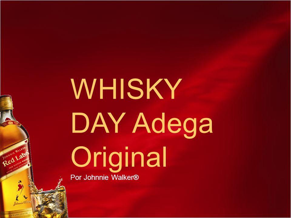 WHISKY DAY Adega Original Por Johnnie Walker®