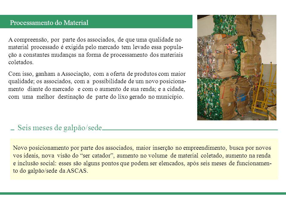 Patrocínio Realização ASCAS Associação dos Catadores de Material Reciclável de S.J.D.R.