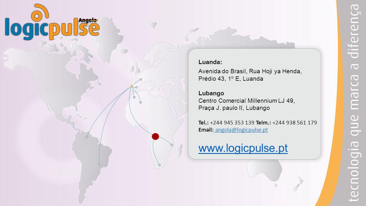 Luanda: Avenida do Brasil, Rua Hoji ya Henda, Prédio 43, 1º E, Luanda Lubango Centro Comercial Millennium LJ 49, Praça J.