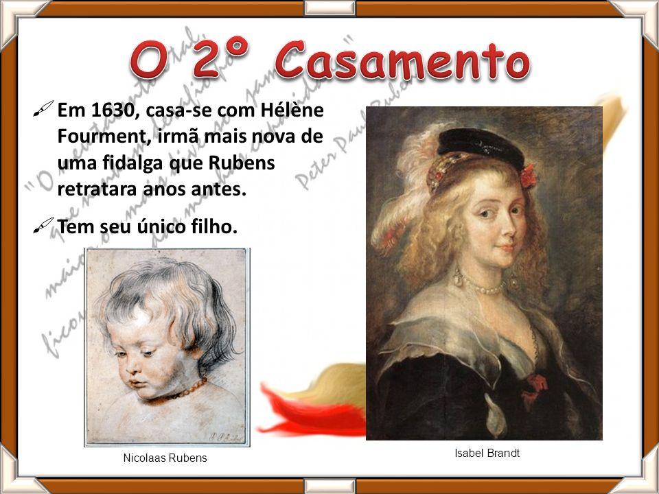 Em 1630, casa-se com Hélène Fourment, irmã mais nova de uma fidalga que Rubens retratara anos antes.